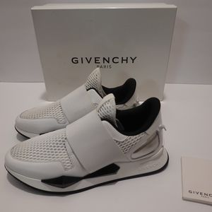 Givenchy Strap Slip-On Sneakers White/Black